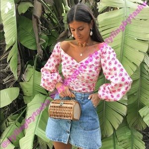 NWT Zara draped top XL in Women's